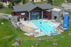 swimming pool montchavin la plagne