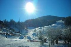 snowcanon at Montchavin la plagne