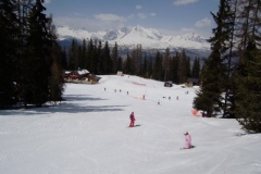 Mont BLanc slope