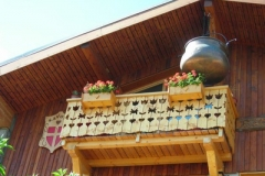 balcony in the village