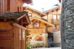 chalet in the village