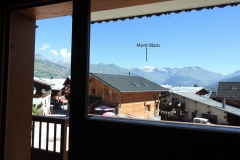 view from bachal apart in chalet seillon