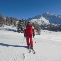 Benoit, ski teacher at the ESF Montchavin La Plagne